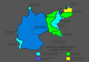 Pommern Germany Map.Should Prussia Pomerania Danzig Silesia Posen And Remaining