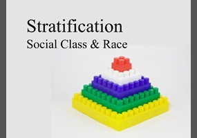 do you feel the stratification of american society has a positive