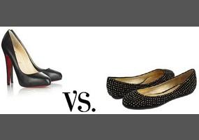 men wear heels and/or ballet flats