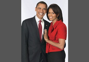 Obama cheats on wife
