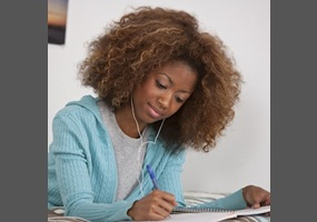 should students be able to listen to music with curse words at