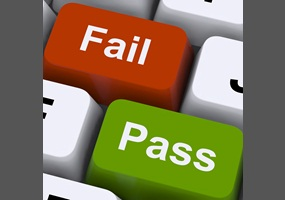 pass and fail grading