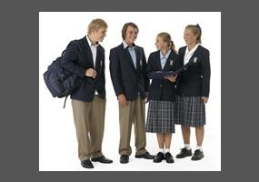 students should not wear school uniforms