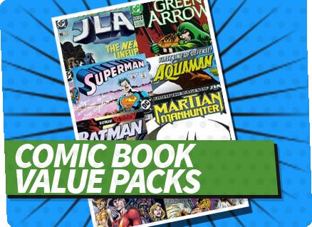 Comic Book  Value Packs
