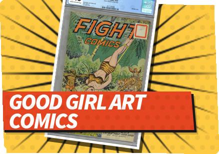Good Girl Art  Comics