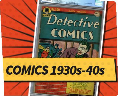 Comics 1930s-40s