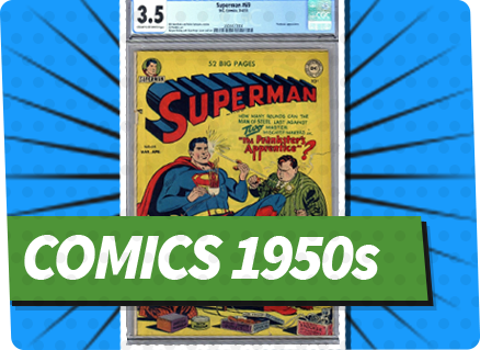 Comics 1950s