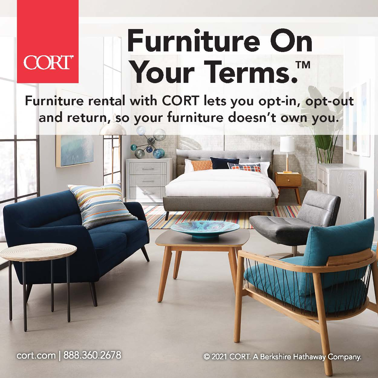 Furniture on your terms Ad