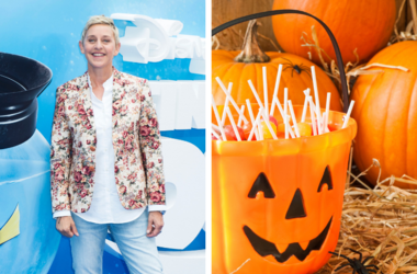 Ellen Generes and Halloween