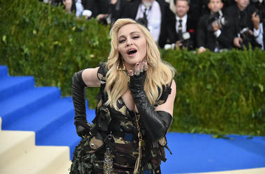 Madonna attends the 'Rei Kawakubo/Comme des Garcons: Art Of The In-Between' Costume Institute Gala at Metropolitan Museum of Art