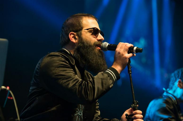 Sebu Simonian of Capital Cities performs as part of Radio 94.7's Electric Christmas at Sleep Train Arena in Sacramento, California on December 4, 2013