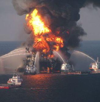 Deepwater Horizon oil rig explosion