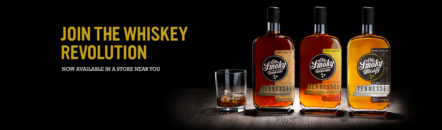 OLE SMOKY® DISTILLERY NATIONALLY LAUNCHES WHISKEY LINE IN FALL 2017