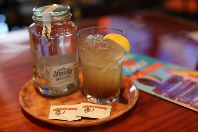 NEW! OLE SMOKY® TENNESSEE MOONSHINE FEATURED NATIONALLY ON HOOTERS COCKTAIL AND FOOD MENU