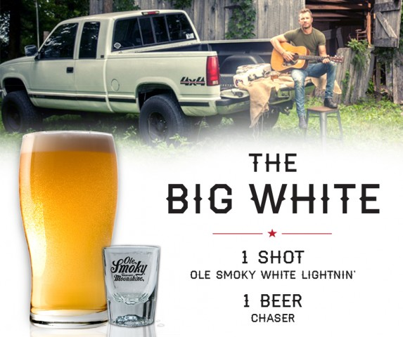 Dierks Bentley's Favorite Way to Drink Ole Smoky - The Big White!