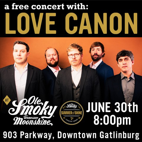 FREE Concert with Love Canon