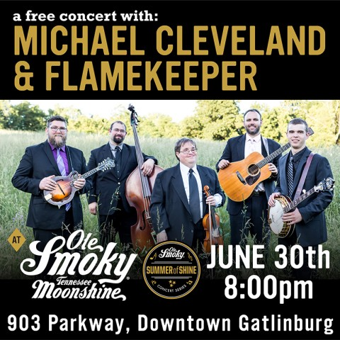 FREE Concert with Michael Cleveland and Flamekeeper