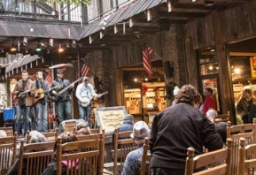 """""""Sample the South at Ole Smoky Moonshine Distillery"""" - Visit South"""