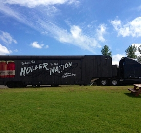 OLE SMOKY MOONSHINE'S THE HOLLER HAS GONE MOBILE AND IS HEADED TO THE LUCAS OIL CHILI BOWL NATIONALS