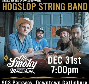 Shine in the New Year with Hogslop Stringband at the Holler!