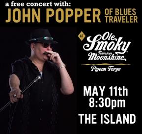 FREE Concert with John Popper of Blues Traveler
