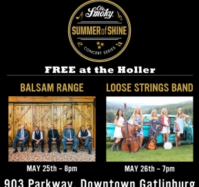 FREE Concert with Balsam Range at the Holler