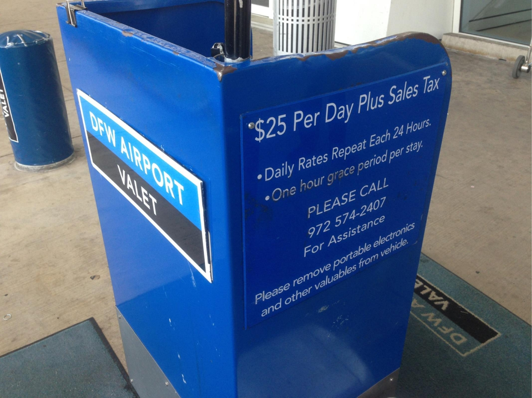 Dfw airport parking valet coupons