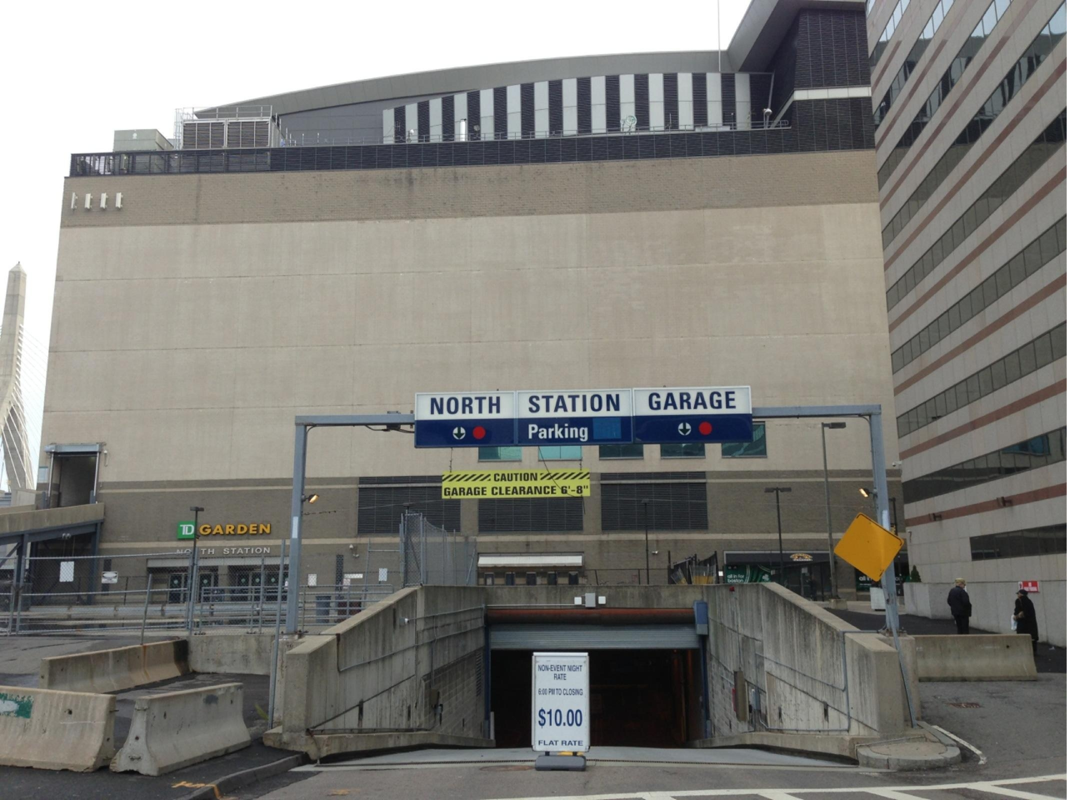 North Station Garage Parking in Boston ParkMe