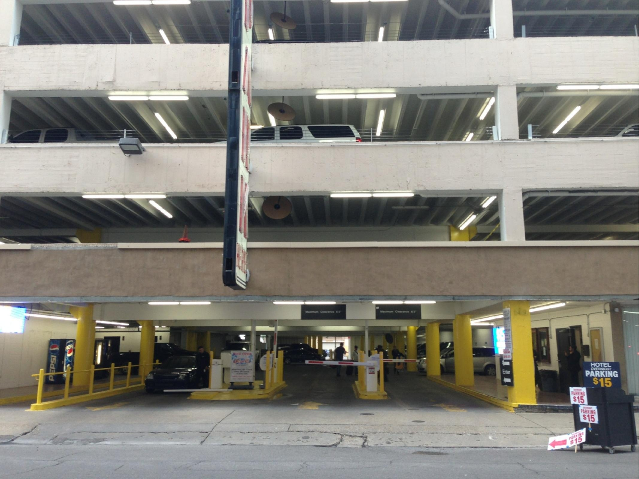 unipark garage parking in new orleans parkme
