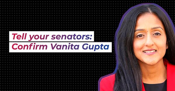 confirm vanita