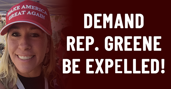 Demand Rep. Green be expelled!