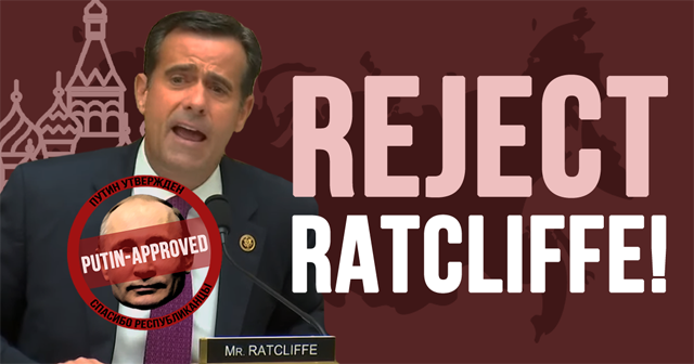 Reject Ratcliffe!