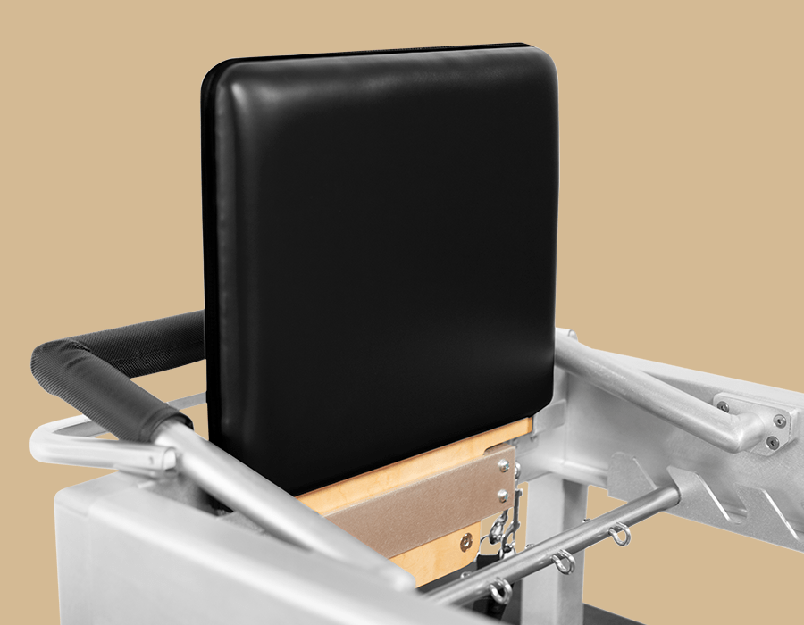 Photo of Contrology Jumpboard mounted on Reformer