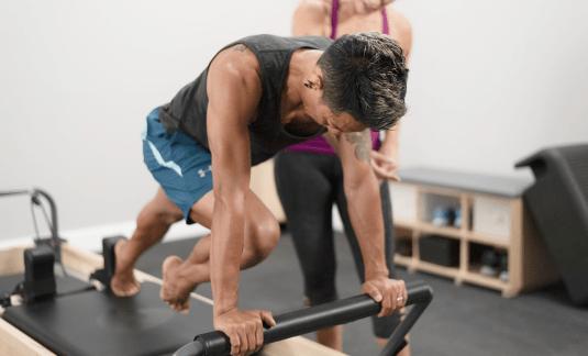 Individual workout on Rialtos
