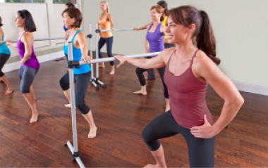 Students in Barre Instructor Training
