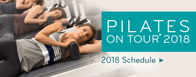 Pilates on Tour 2018 Schedule