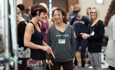 Pilates On Tour conference photo