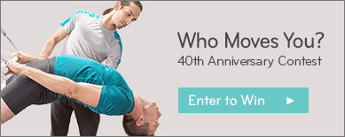 Who Moves You? 40th Anniversary Contest. Enter to Win.
