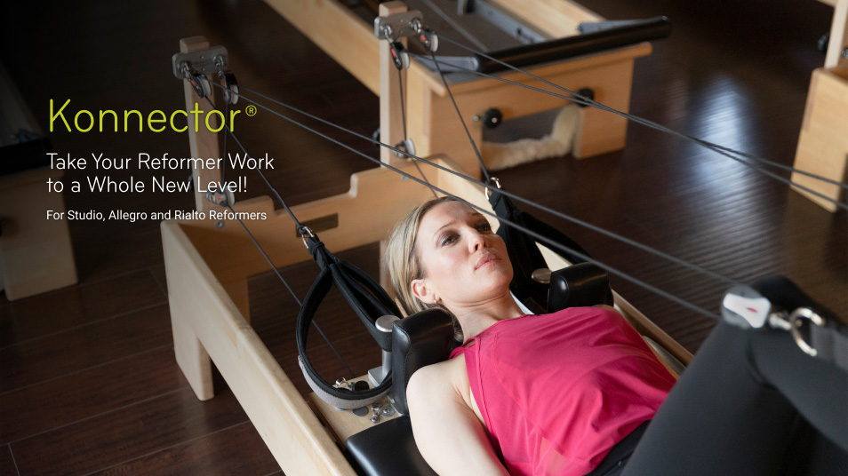 Konnector: Take your Pilates to a whole new level! For Studio, Allegro, and Rialto Reformers