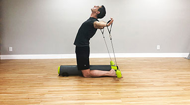 Photo demonstrating exercise
