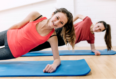 Group Mat workout