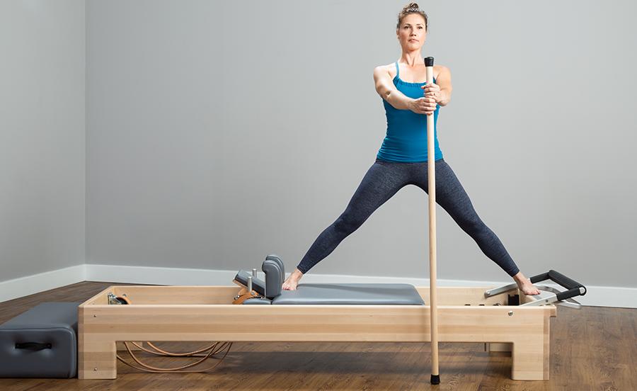 Peak Pilates Stick//Pole