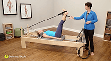 Ultra-Fit Circle® Mini: on the Reformer