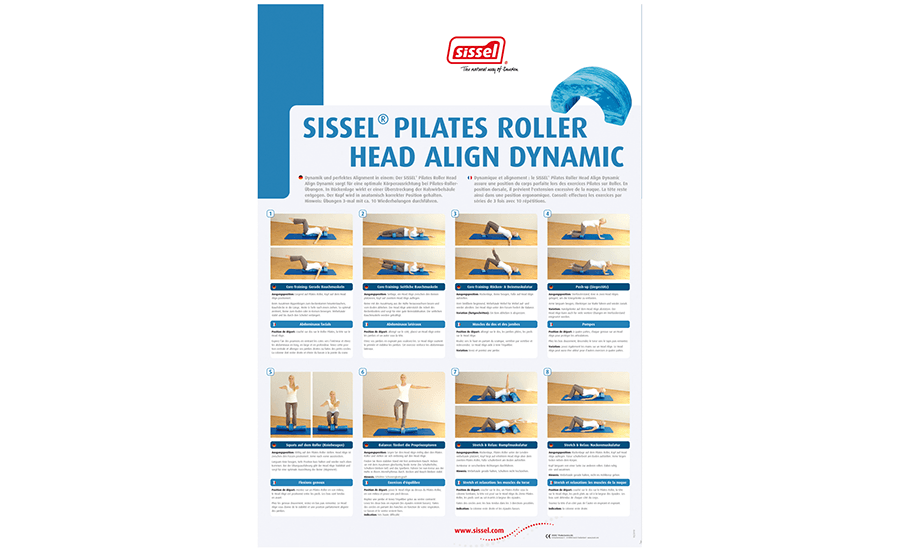 Pilates Roller Head Align Dynamic poster