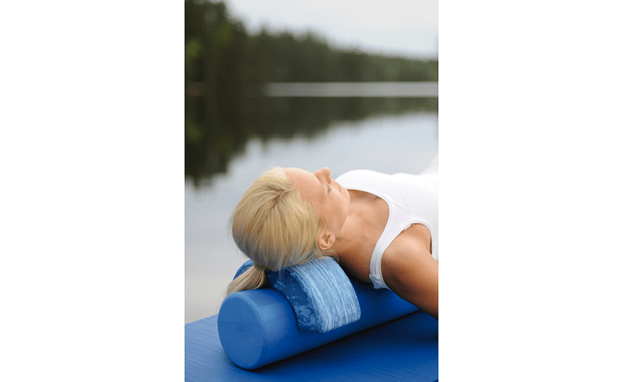Pilates Roller Head Align Dynamic in-use product photo
