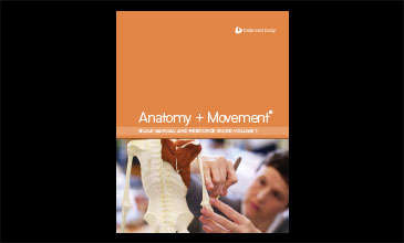 Product photo of Anatomy + Movement Manual