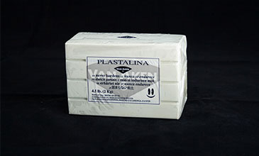 Product photo of white clay