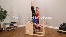 Scissors and Handstand