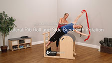 Lateral Rib Roll and Side Bend with Rotation