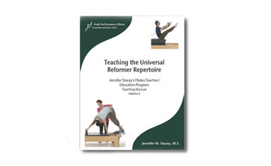 Teaching the Universal Reformer Repertoire Book